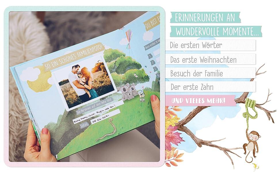 erstes jahr baby tagebuch jungen jahr für jahr mein erinnerungsbuch babytagebuch erstes jahr mein