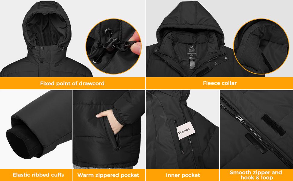 Men's Puffer Coat