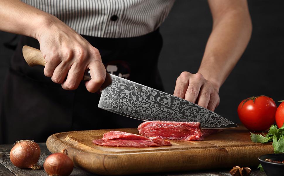 Ensemble de Couteaux de Cuisine 5 Pièces
