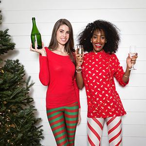 womens Christmas leggings