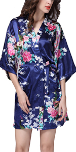 womens floral robes