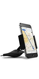 CDスロット 車載マウント サテチ Satechi スマートフォンマウント スマートフォンホルダー 車載ホルダー  360度回転 カーナビ  iphone スマホホルダー ドライブ GPS