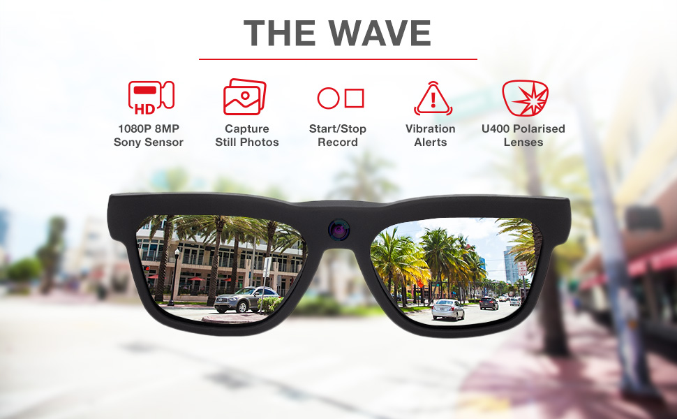 iVUE Wave Camera Glasses Features