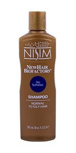 hair oily normal shampoo