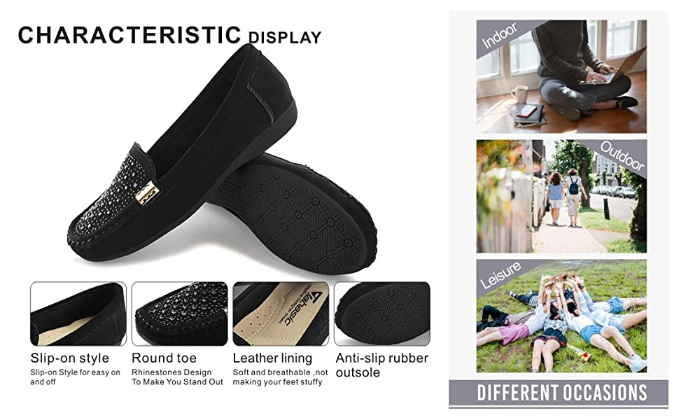 Women Loafers Shoes