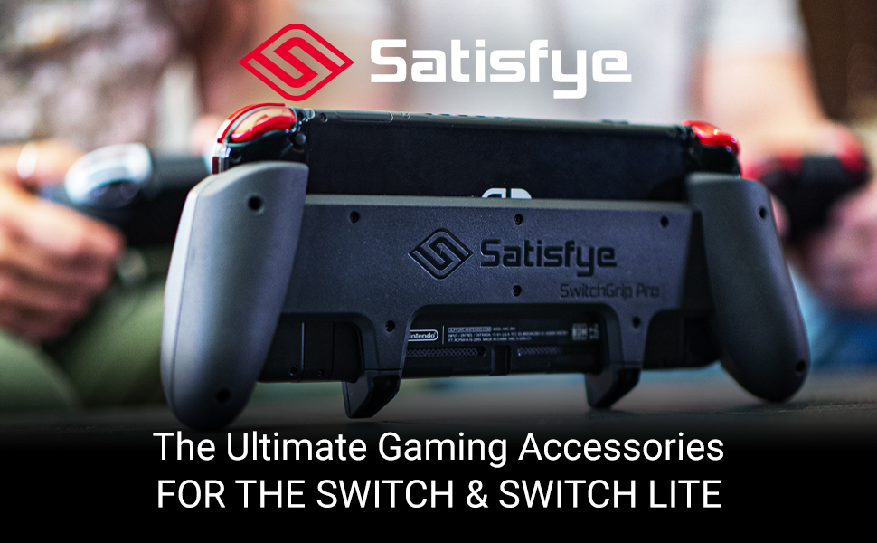 We designed the Satisfye Pro Gaming Grip to give you an unrivaled, pro-controller