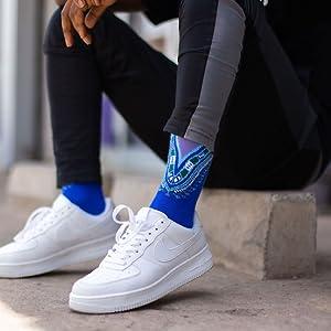 afrisocks colourful socks dashiki