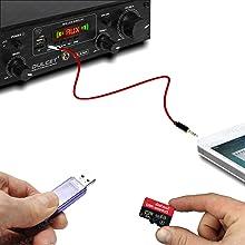 Dulcet DC-A50X USB, SD Card & AUX Input