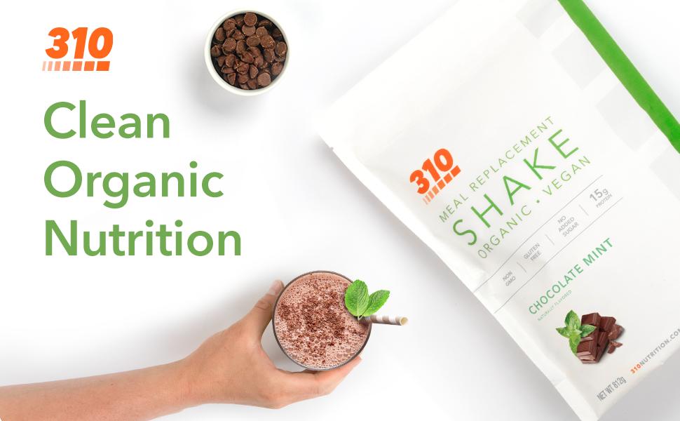 Organic Chocolate Mint Shake