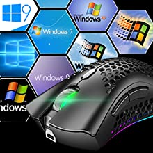 game mouse honeycomb