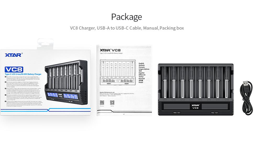 alt='18650 21700 16340 batteries charger'
