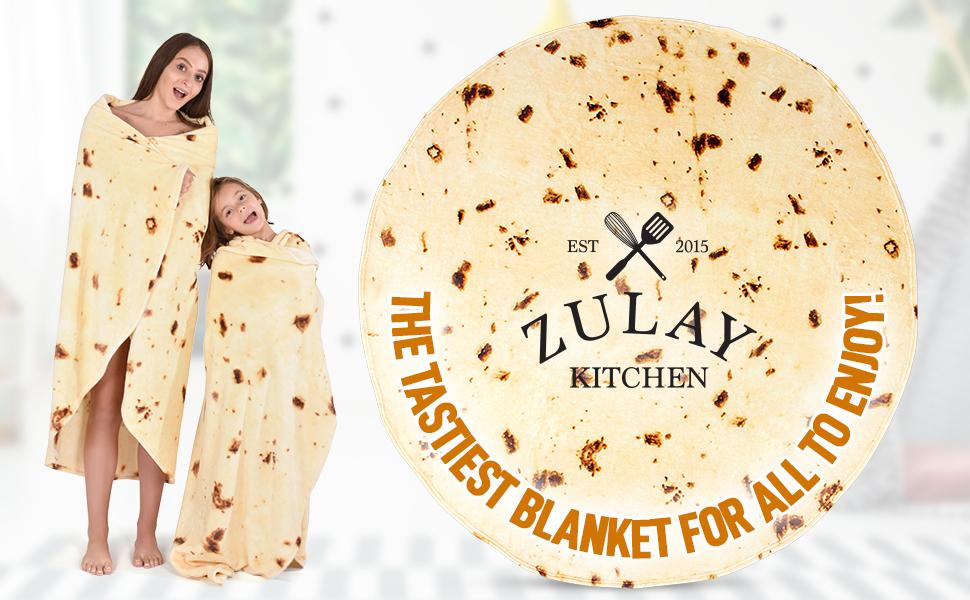 burrito blanket zulay kitchen