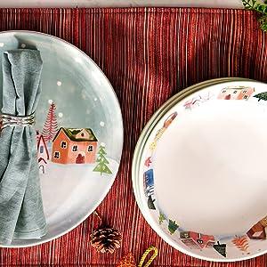 Bico Nordic Village Dinnerware Set