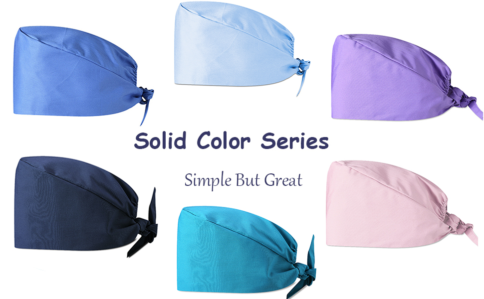 Solid color series hat