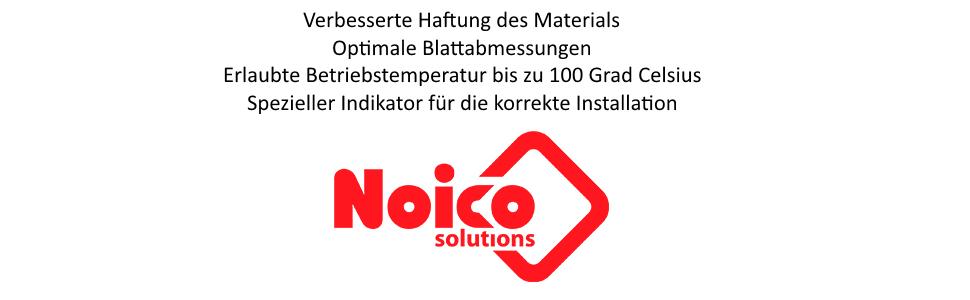 Noico solutions installatie bedrijfstemperatuur indicator hechting