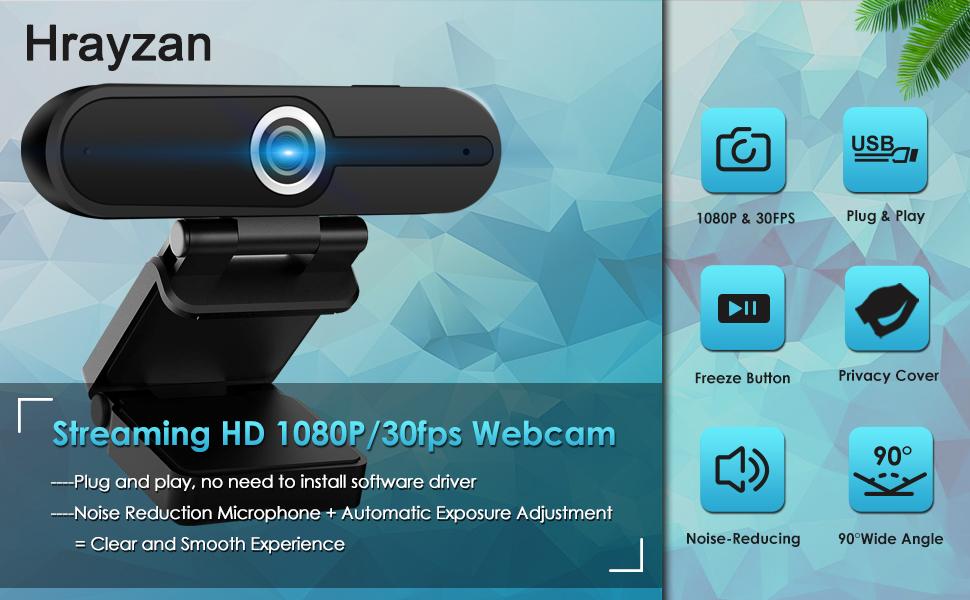 streaming HD 1080p webcam