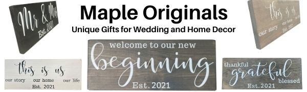 mr and mrs signs 2021 sign wedding bridal shower gifts his hers aprons couples gift set bride groom