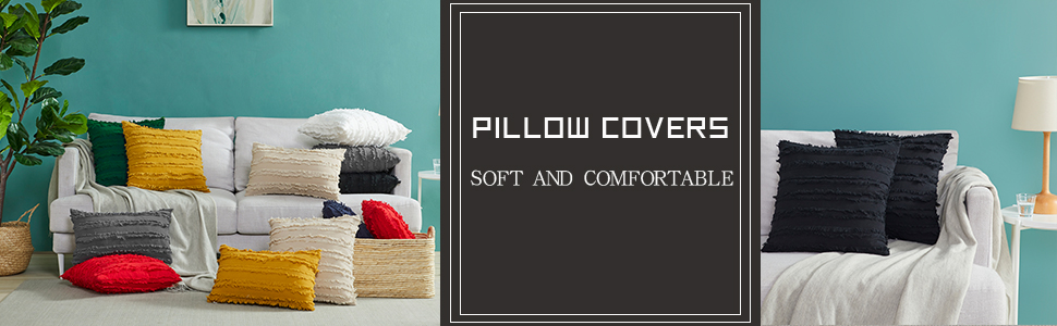 couch pillow cover