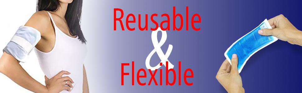 reusable flexible with bonus pouch