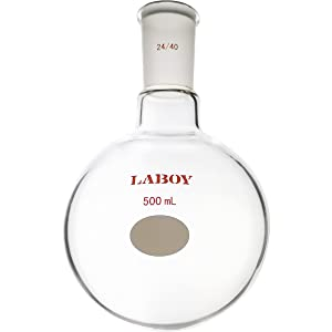 500mL single neck round bottom flask boiling flask distillation flask