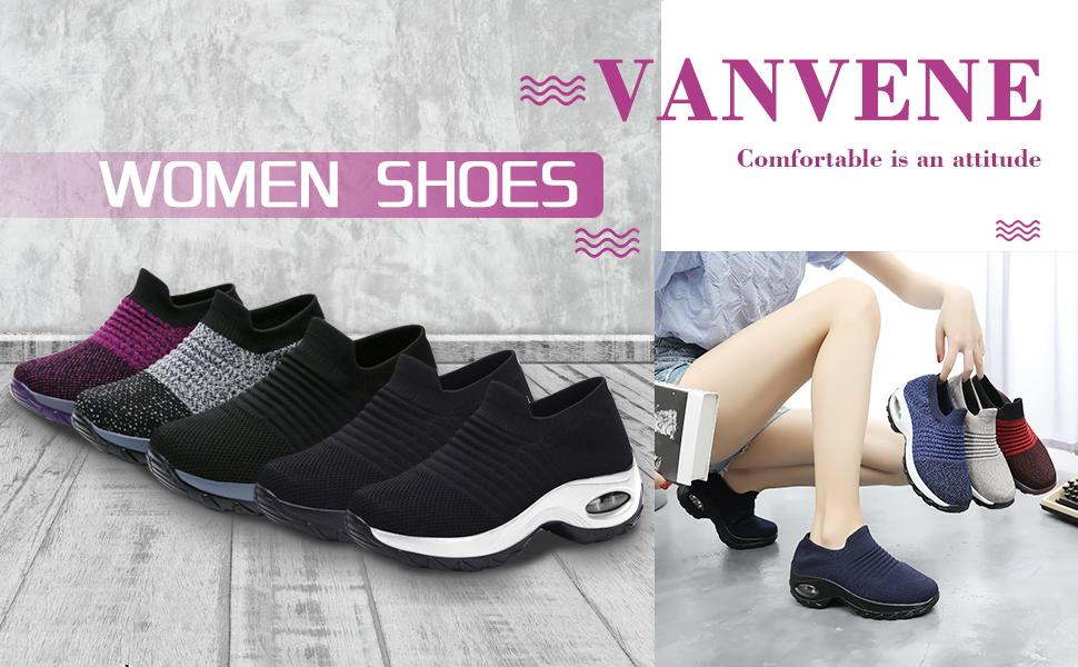 Women slip on walking shoes