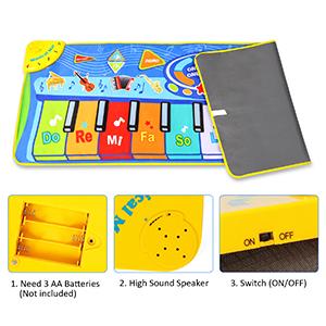 portable musical mat
