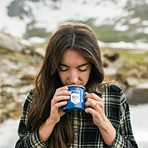 enjoy your pour over coffee whether you're camping or traveling