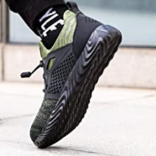 safety shoes-green