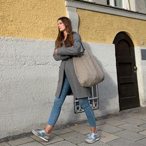 Tasche Leinen Bag design schön fein besonders hohe Qualität zeitlos schlicht Naturfarben beige linen