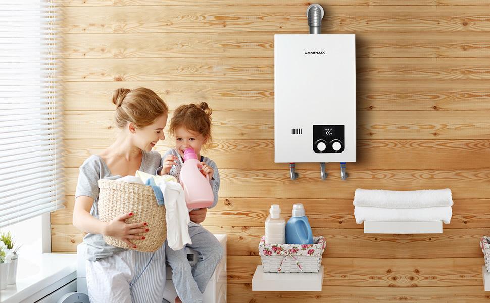 tankless water heater propane