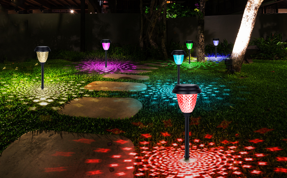 solar pathway light color changing3