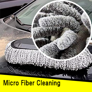 Deejay Microfiber Car Cleaner Washable Duster
