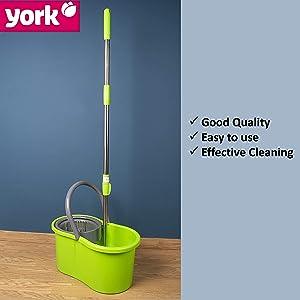 york spin mop