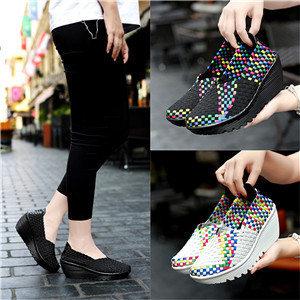 Fashion woven shoes