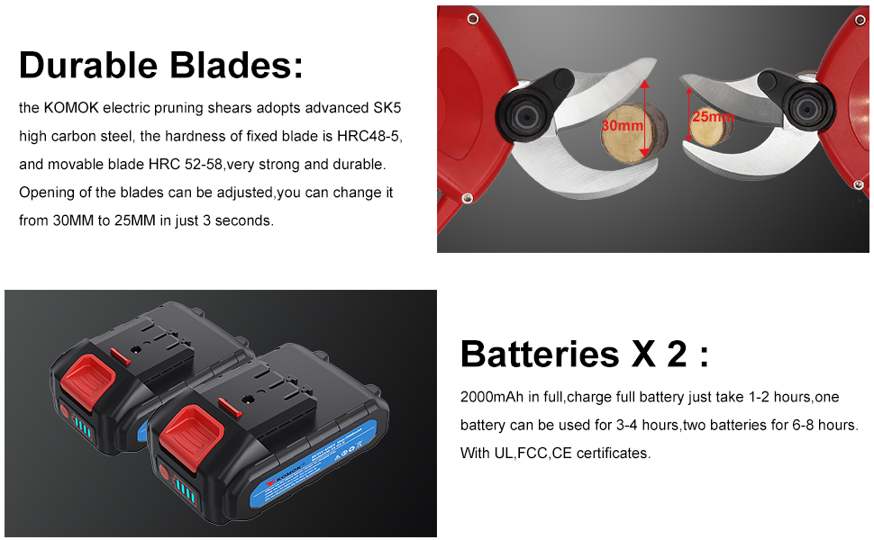 durable blades