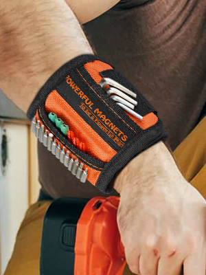 Magnetic Wristband for Screw ,Gifts for Men,Gadgets for Men, Gifts for Handyman,Father,Dad, Husband,