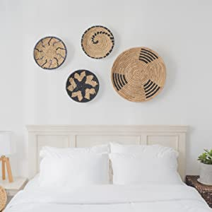 flat baskets for wall decor