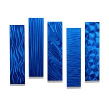 blue wall art statements2000 jon allen metal art decor for living room blue home decor handmade art