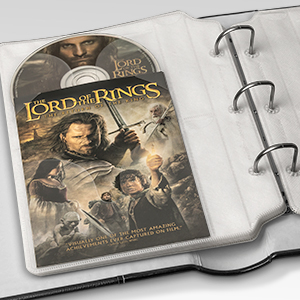 store dvd movie cover art sheets inserts