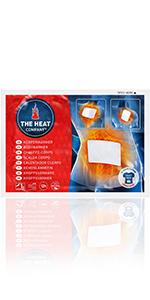 calentador de cuerpo, cuerpo caliente, almohadilla termica, calentador, calentador adhesiva