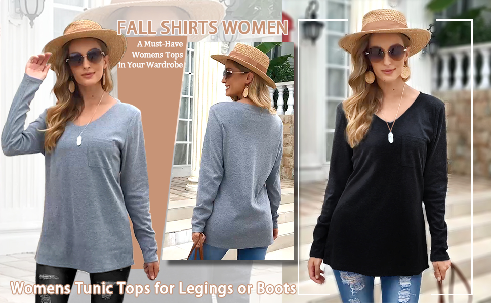 Fall Shirts Women
