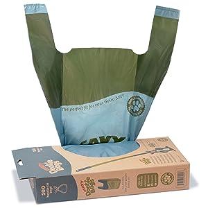 Heavy Dootie Bags; VERY LARGE Poop Bags