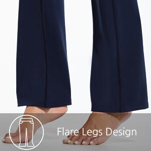 flare legs