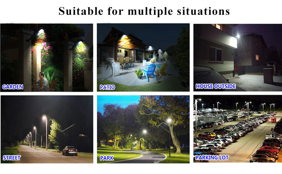 Application of solar street light