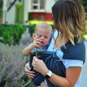 maya wrap baby carrier hiking ring sling wrap breathable outdoors toddler hip carry adjustable