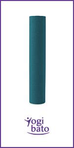 Yogibato Yoga Mat TPE - anti-slip gymnastiekmat Sport Mat - mat met draagriem voor gymnastiek Pilate
