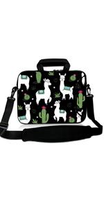 Alpaca Cactus Laptop Sleeve Bag