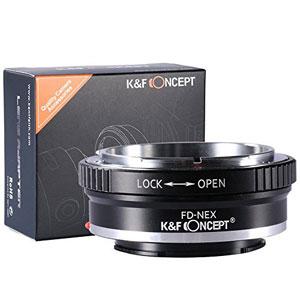 Pro Canon Fd für Sony E-Mount Adapter Ring Qualität Nex Objektiv