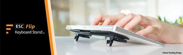 ergonomic computer keyboard stand lifter