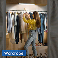 closet light rechargeable for wardrobe
